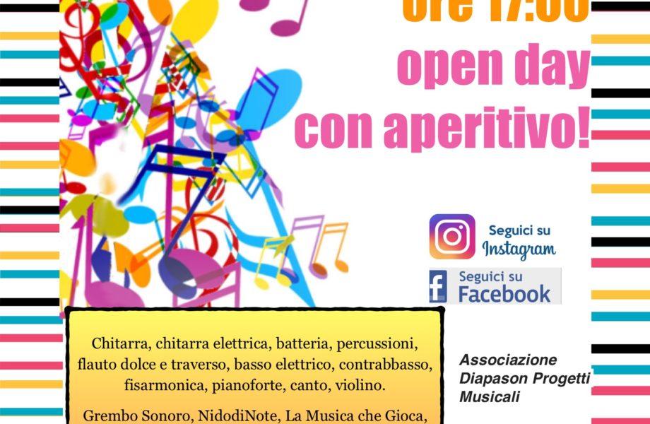Open Day e Aperitivo Venerdì 8 settembre