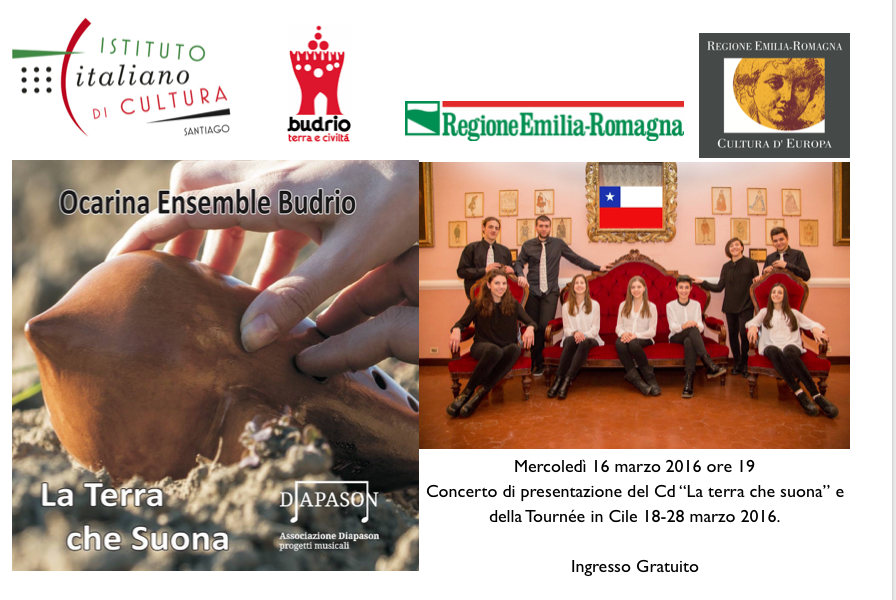 Ocarina Ensemble in Cile.